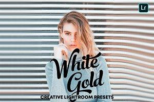 White Gold - Lightroom Presets
