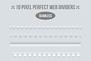 Borders and dividers for web