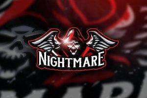 Nightmare -  Mascot & Esport Logo