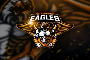 Eagles Strongers - Mascot & Esport L