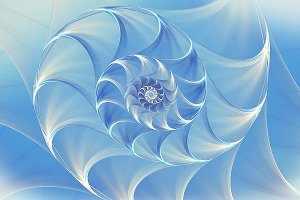 abstract Background blue shell