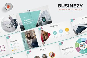 Businezy - Powerpoint Template