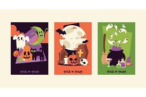 Halloween kids costume trick or