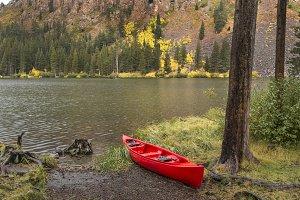 Kayak by the lake