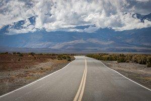 Desert road, Eastern Sierra