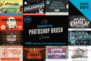 Essential Photoshop Brush Bundle