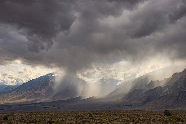 Stock Photos - Stormy weather,  Eastern Sierra