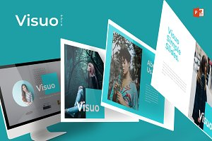 Visuo- Powerpoint Template