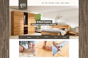 Nailhead - Carpenter WordPress Theme