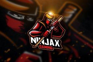 Ninja Sword - Mascot & Esport Logo