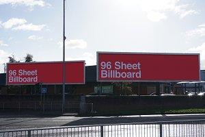 96 Sheet Billboard Mock Up - Belfast
