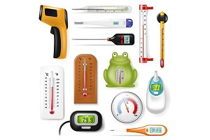 Thermometer vector tempering