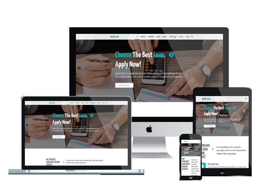 LT Loan Onepage Joomla template