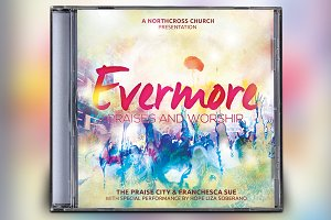 Evermore CD Album Artwork