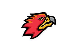 Firebird Head Mascot