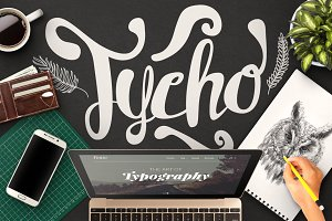 Tycho Typeface + Ornaments