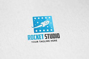 Rocket Studio - Logo Template