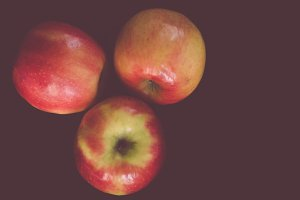 Three Red Apples II