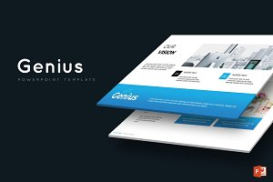 Genius - Powerpoint Template