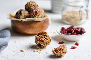 Healthy Energy Balls, Raw Vegan Ball
