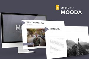 Mooda - Google Slides Template