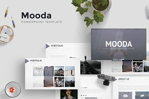 Mooda - Powerpoint Template