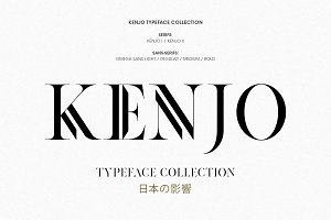 Kenjo Font Duo + Free Sans