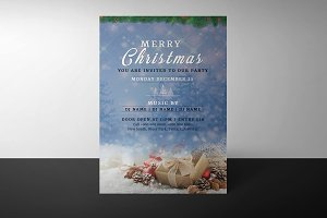 Christmas Invitation Flyer V910