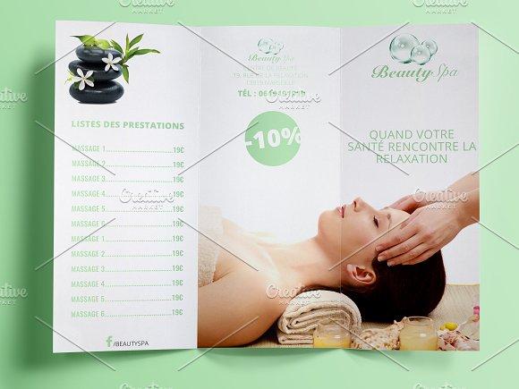 Spa Brochure ~ Brochure Templates ~ Creative Market
