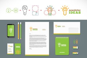 Newsletter Ideas Logo and Stationery
