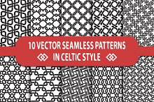 10 celtic seamless patterns