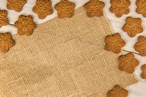 Christmas or New Year gingerbread