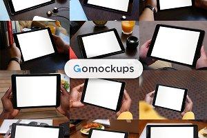 16 iPad mockups