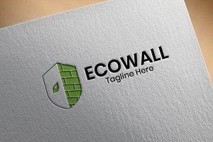 EcoWall - Organic Logo Template