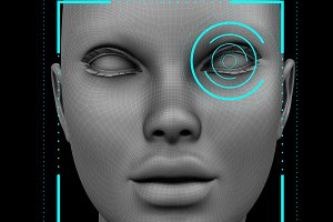 face recognition eye
