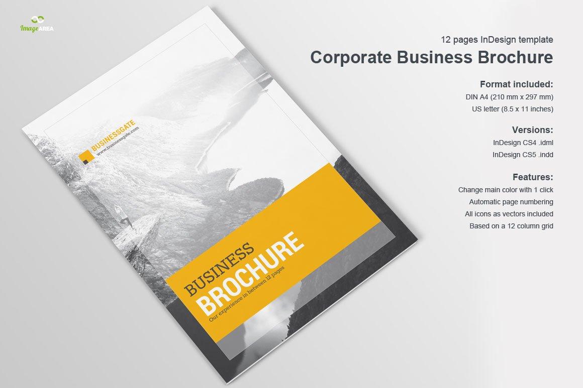Corporate Brochure Vol 1 Brochure Templates Creative Market