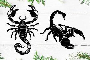 Scorpion Logo Templete