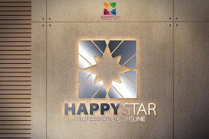 Happy Star Logo