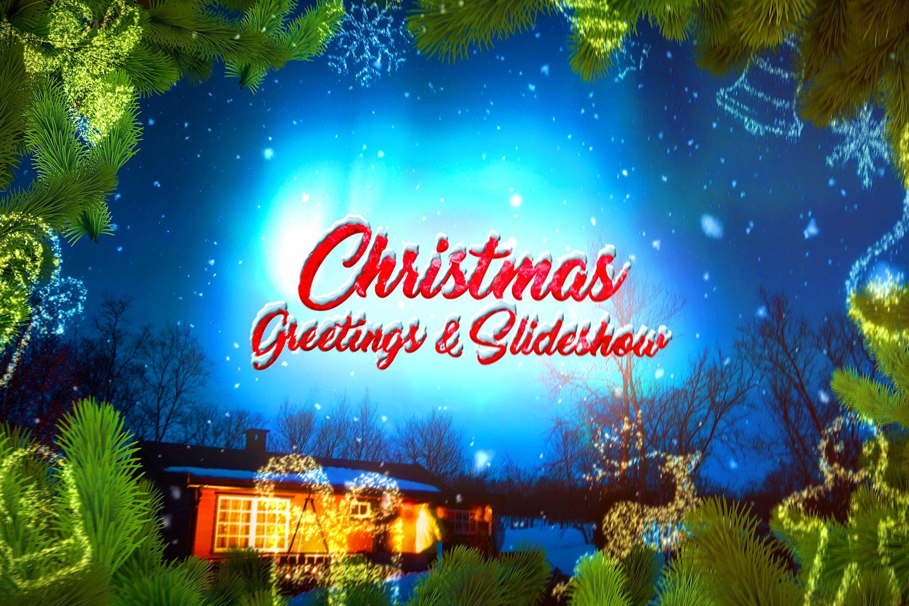 Christmas Slideshow ~ Templates ~ Creative Market
