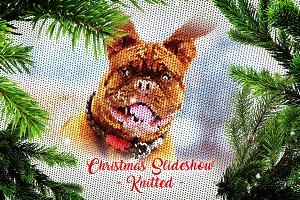 Christmas Slideshow - Knitted