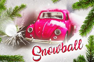 Christmas Slideshow - Snowball