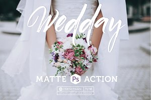 Wedday Photoshop Action