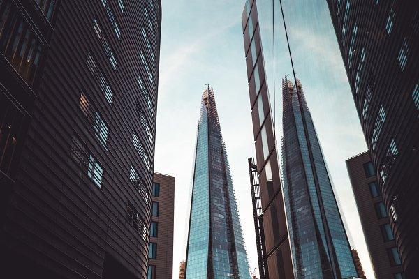 Stock Photos: Tom Eversley - Shard building modern London skyline