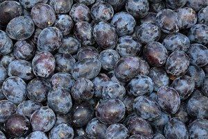 Prunes Fruit Background