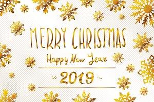 merry christmas 2019 Happy New Year