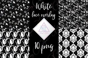 White Lace Clipart