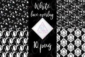 White Lace Clipart