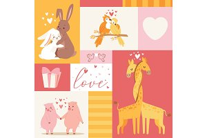 Animals baby birthday invitation zoo