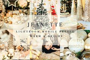 Mobile Lightroom Preset