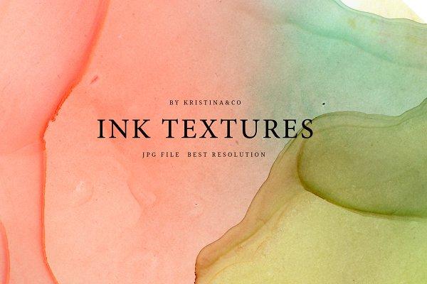 Textures: Kristina&Co - Ink Textures